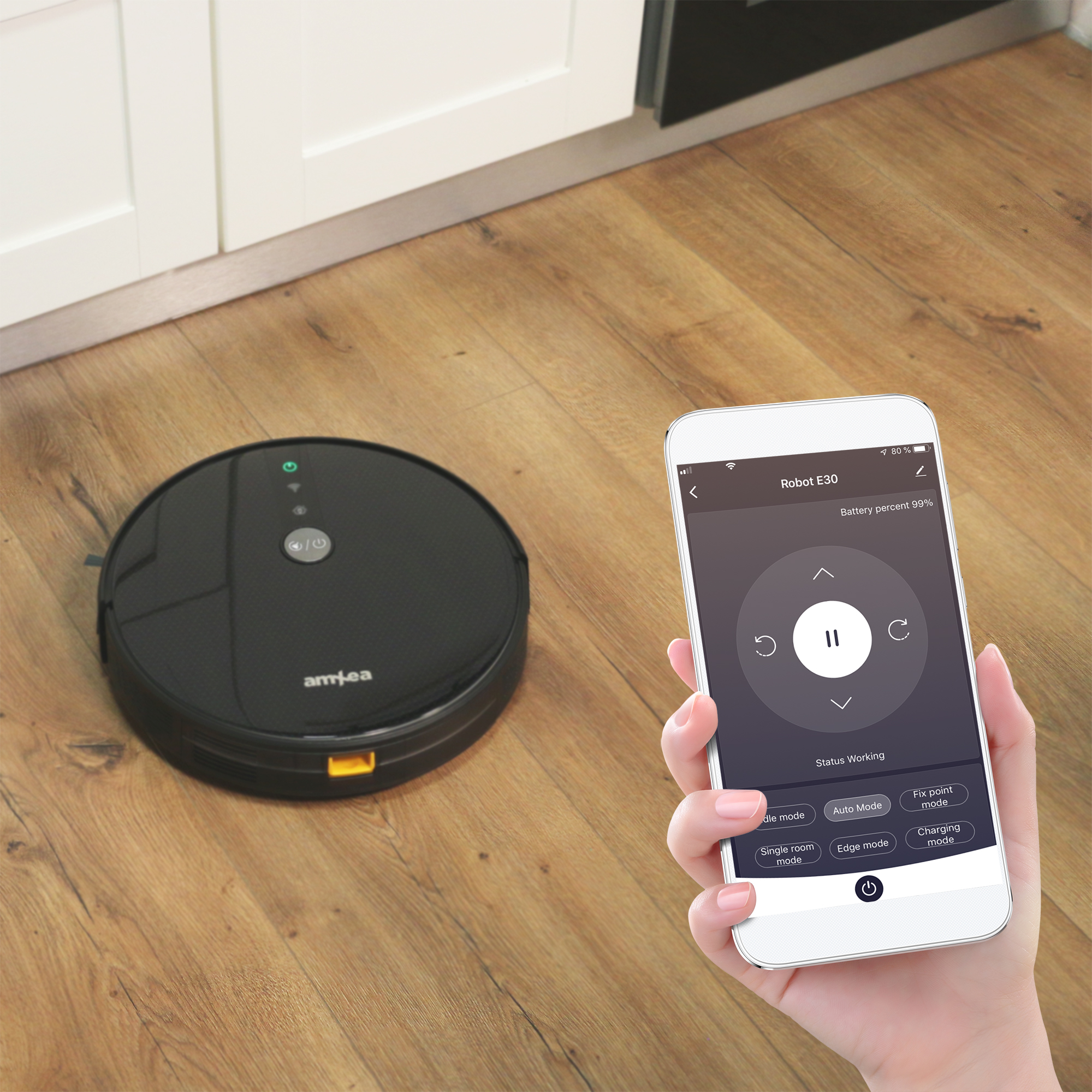 robot amxea e30 wifi app