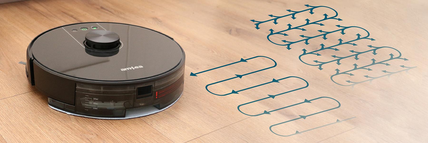 aspirator robot amxea e50 moduri curatare umeda